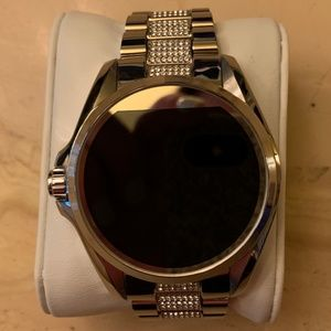 Michael Kors Silver Smart Watch